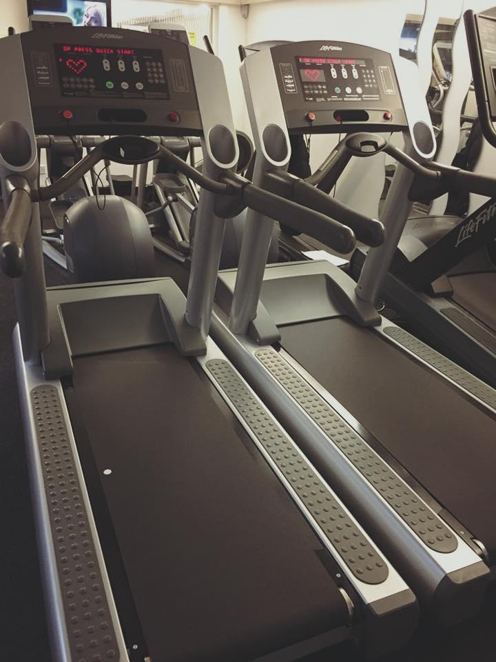 New treadmills