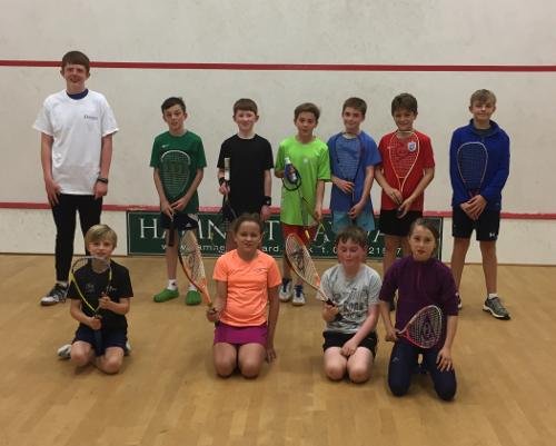 One-day junior squash tournament Oct 2017