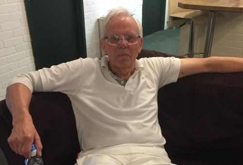 Martin will still be playing squash at 80 years old - Racquets Fitness Centre